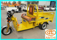 China New Design Cargo And Passenger Double Use Motor Tricycle/Three Wheel Cargo Vehicle,Amthi