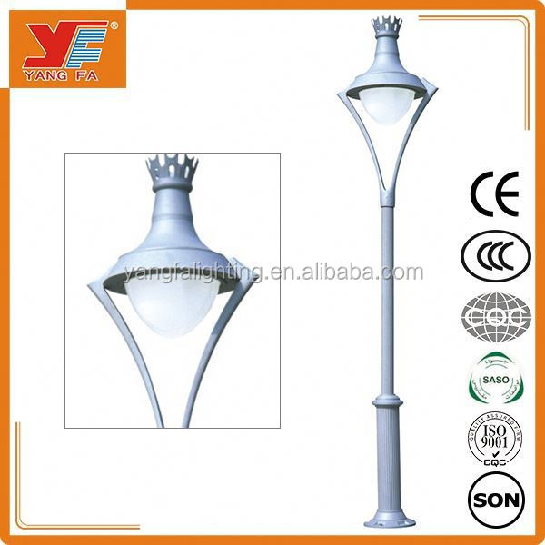 aluminum garden pole light Landscape lamp