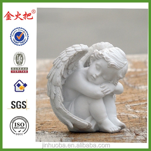 Promotional Resin Cupid angel statue for sale