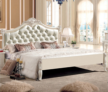 0409-8800 Cheap price white color bed room set