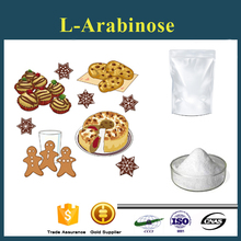 Food additives sweeteners L-Arabinose powder for making bake,candy,biscuit