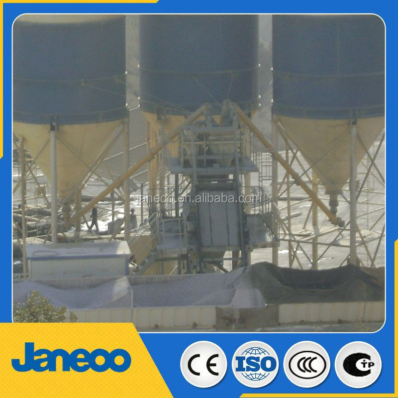 75m3/h concrete batching plants factory