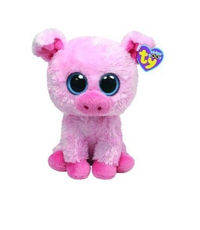 Corky the Pink Pig Beanie Boos Stuffed Animal Plush Toy