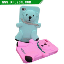 Animal Shaped Sleeping mode cell mobile phone case