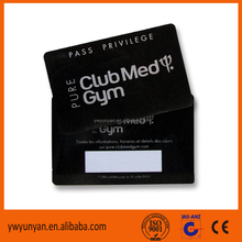 Club house membership card with software
