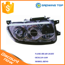 For HINO truck head lamp 219-1109 with best quality