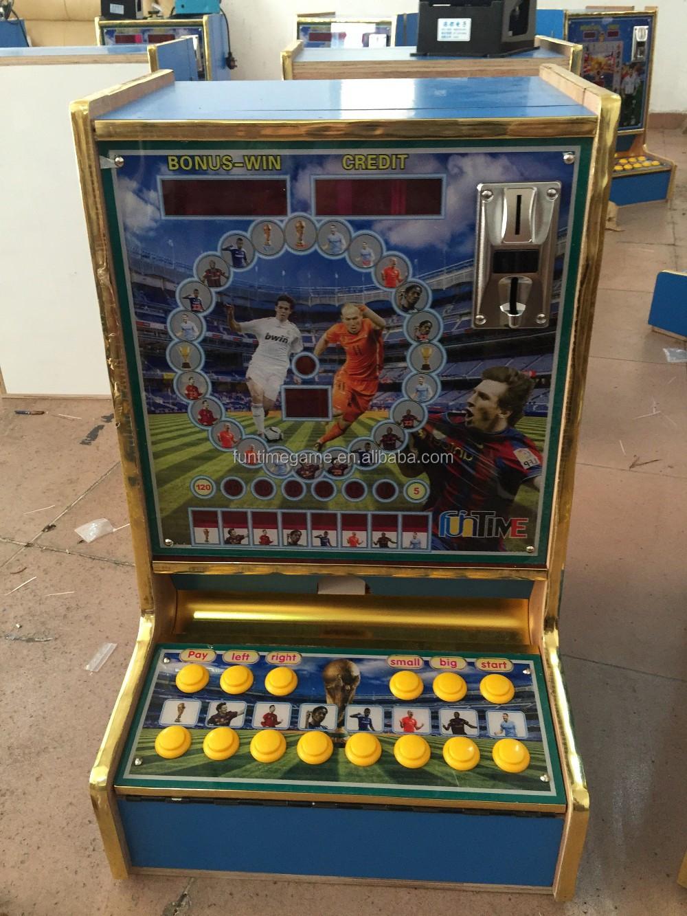 Hotsale In Kenya Coin Gambling Machines Desk Top Slot