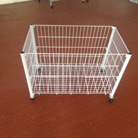 Common Steel Pallet Cage Of Clothing
