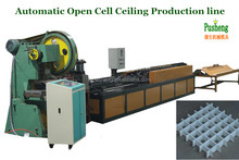 Hot sale metal grill ceiling making machine roll forming machine