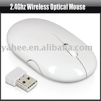 2.4Ghz 2.4G USB Wireless Optical Mouse for PC Laptop,YHA-PC161