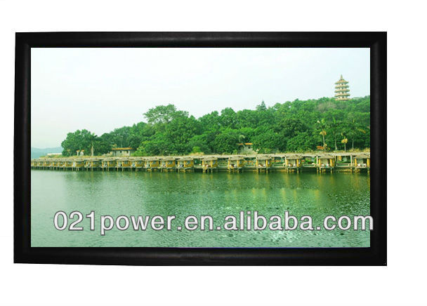 Fixed Frame Projection Screen / Projection Equipment
