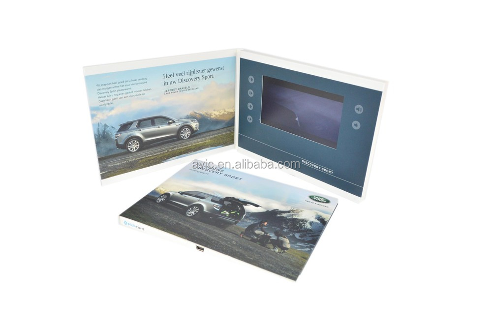 2015 new product 4.3 inch video player brochure electronic ...