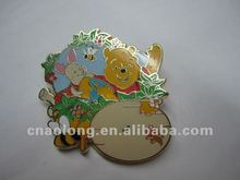 cartoon character custom zinc alloy button badges/metal pin name badge with make your own design logo