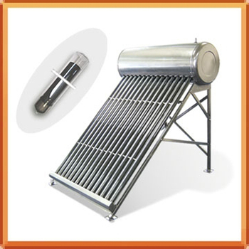 Color Steel Unpressurized Solar Water Heater Compact Solar Hot Water Geyser 58*1800MM Three Target Vacuum Tube ST21-180