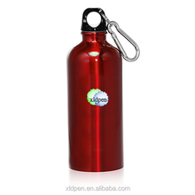 2016 hot sales 500ml Stainless Steel Bike Bottle with Carabiner/metal water bottle