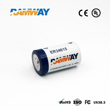 3.6V 9Ah C size Primary Li Battery ER26500 for LPWAN LoRa Sigfox linked alarm system