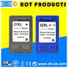 21 22 cartridge for ink cartridge chip reset cheap printer ink cartridge