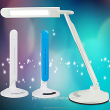 light night led portable usb rechargeable foldable desk lamp with blue tooth connection ,speaker and USB port