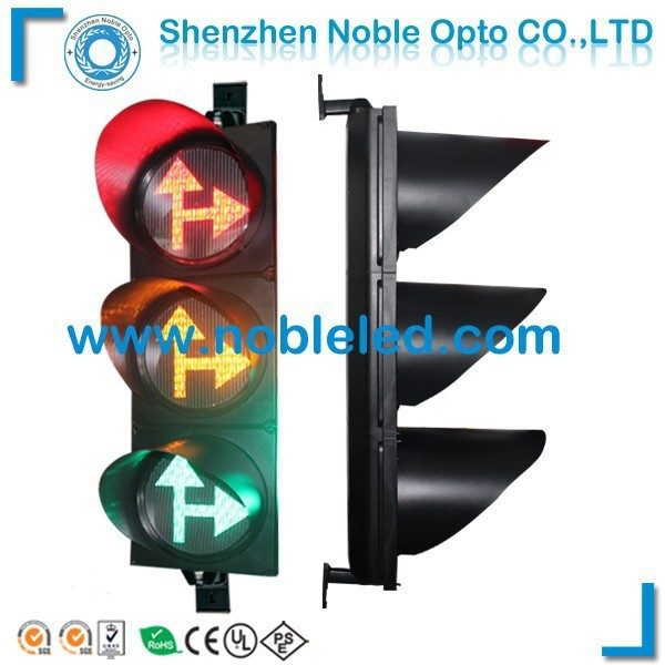 12 inch Go straight+turn right arrow combination traffic light latest construction products