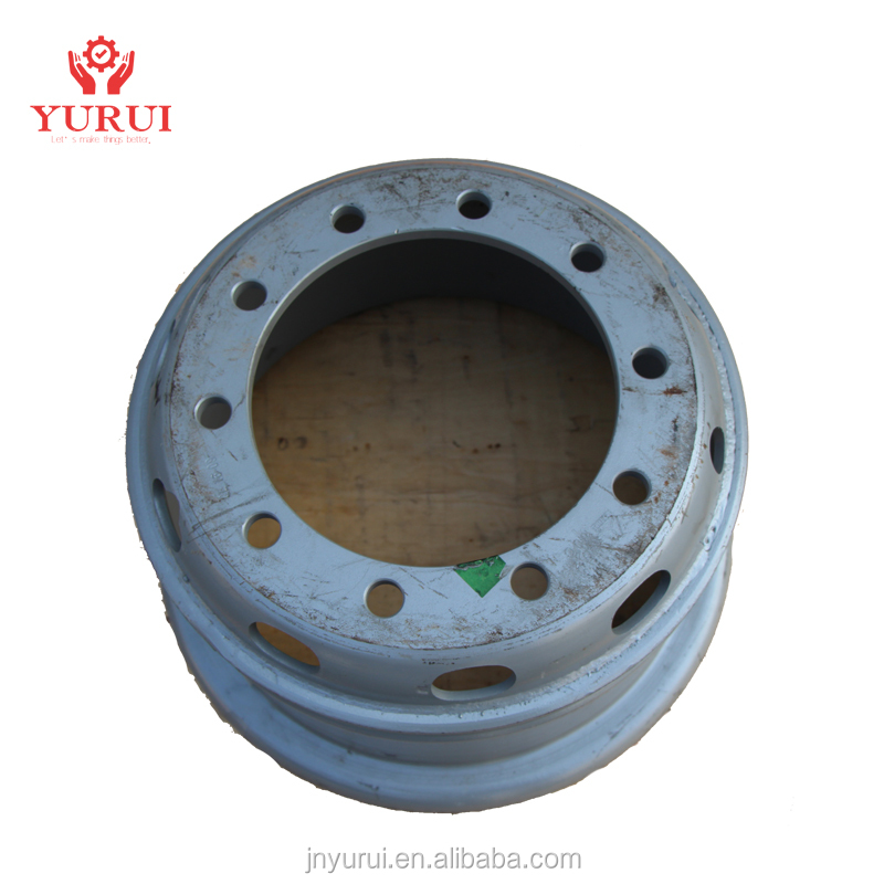 Widened rear brake drum Brake drum assembly HOWO SINO TRUCK Spare parts