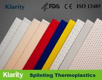 Fracture Moldable Plastic Medical Splints Orthopedic Splints