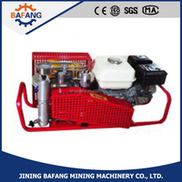 4-stage air-cooled 100L/min portable high pressure air compressor