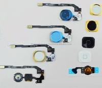 Home Button Flex Ribbon Cable Assembly For CDMA GSM Phone iPhone 4 4SNew Black