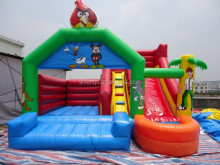 kids Inflatable bouncer slide combo inflatable trampoline inflatable bouncer with slide