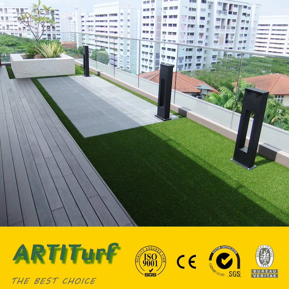 Outdoor Design Customize Fake Turf/Artificial Grass for Balconies