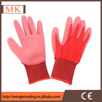 cheap 13G latex coated gloves,safety gloves,working gloves