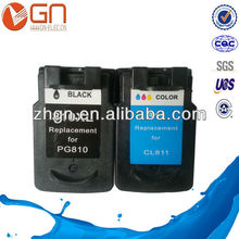 PG-810 CL-811 ink cartridge remanufactured for canon MX328/MX338/MX347/MX357