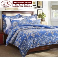2016 China wholesale home bedding decoration microfiber jacquard bedding set