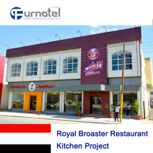 Royal Broaster Restaurant Kitchen Project
