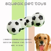 High quality pets toy dog chew ball little football