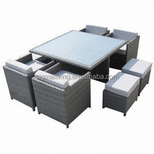 2015 Best sale outdoor classic rattan dining table set
