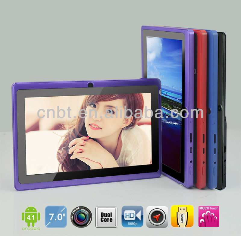 Promotional 7 inch tablet for kids best selling christmas gifts