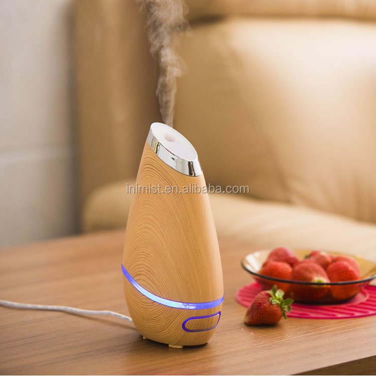 usb aroma diffuser, air Humidifier with blue light, Auto Shut-off Function