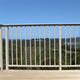 Balcony railing cover for aluminum alloy railing system