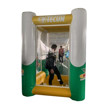 Cash Catching Machine Advertising Events Used Inflatable Money Grabber Cash Cube Inflat Money Grab Booth For Sale