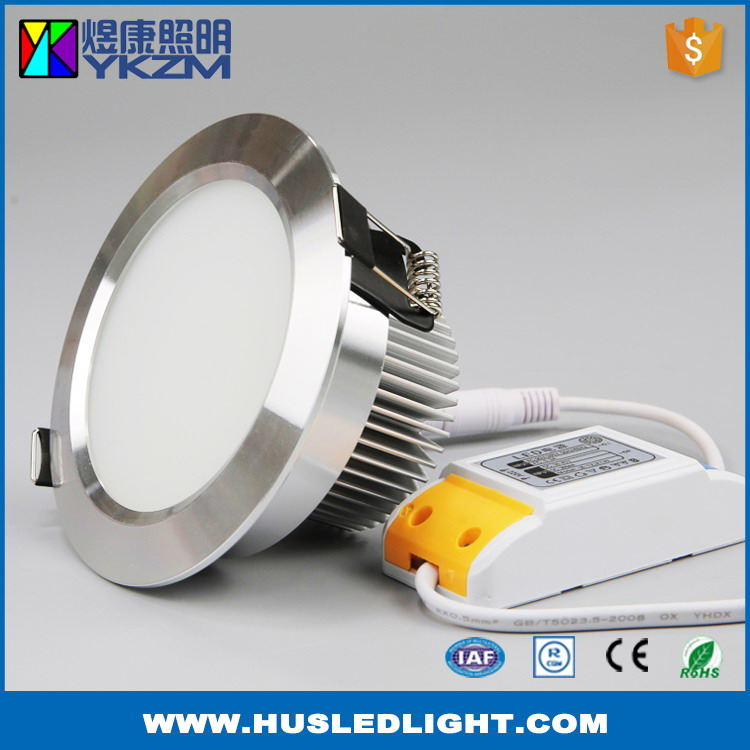 Factory in zhenjiang china reliable quality 12w led downlight smd