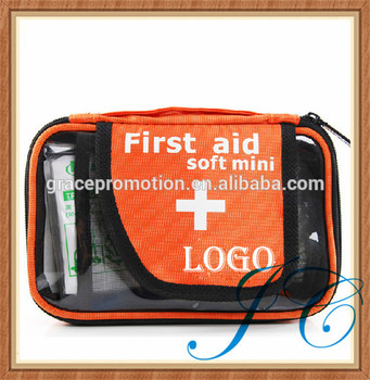 FDA approved portable cute medical first aid kit with custom logo