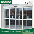 Ahouse 300kg automatic sensor glass sliding door OA (CE)