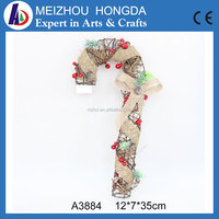 Christmas party decoration colourful cany walking stick