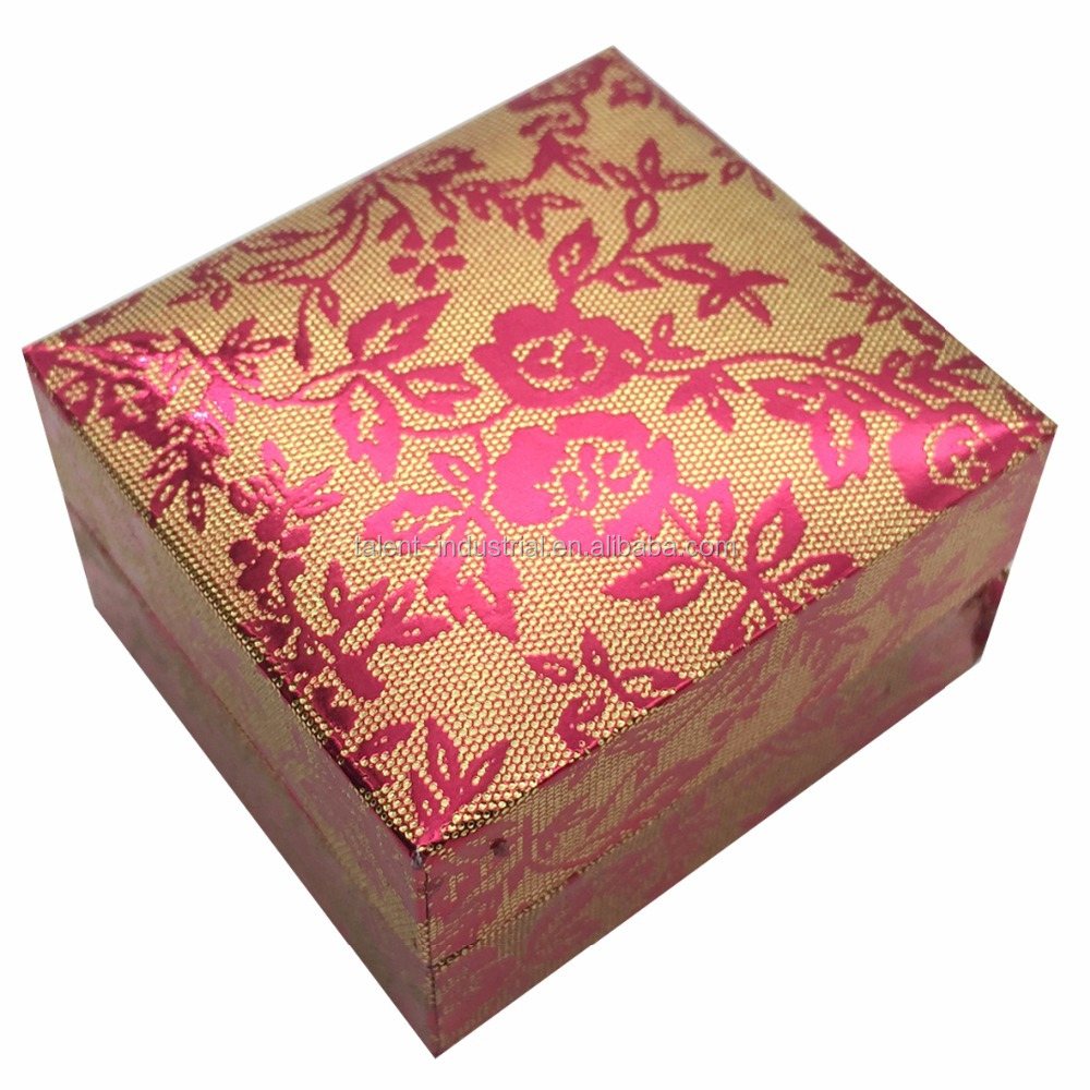 New red wedding favor boxes/wedding favor gift box