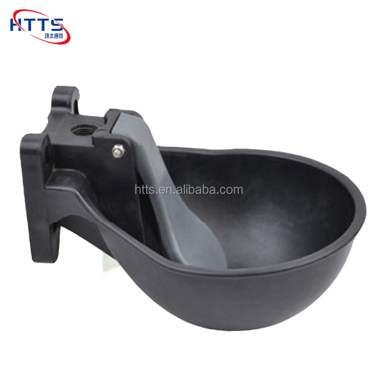 Plastic animal drinking bowl for cattle