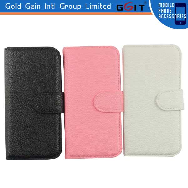 2014 Hot Sell Protector for iPhone5S Flip Cover Case with Wholesale Price