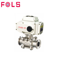 high pressure water flow control threaded electric valve water