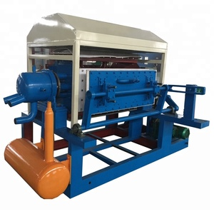 Henan Supplier Paper Pulp Egg Tray Forming Machine With Kinds Of Mould