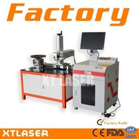 2015 Alibaba pipe laser marking machine | fiber laser marking machine for flange | fiber laser marking machine for brake disc