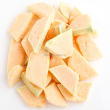 factory freeze dried muskmelon FD fruits dried fruit